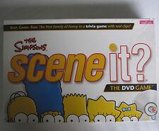 I Simpson SCENE IT DVD Quiz BOARD GAME verificato 100% COMPLETO GRATIS