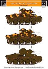 SBS Models Decals 1/35 HUNGARIAN TOLDI I (A20) & TOLDI II (B20) TANKS IN WWII