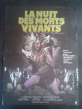 Affiche LA NUIT DES MORTS VIVANTS ROMERO 38 X 52 CM - trous de punaise