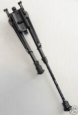 """9""""-13"""" SWIVEL ROTATE Pivot Bipod +Rail Adapter Fit Remington Ruger Savage Rifle"""