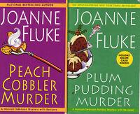 Complete Set Series - Lot of 25 Hannah Swensen Mystery books by Joanne Fluke