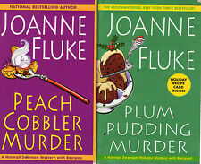 Complete Set Series - Lot of 21 Hannah Swensen Mystery by Joanne Fluke (Recipes)