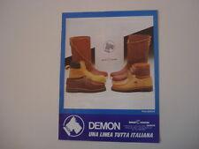 advertising Pubblicità 1985 SCARPE BRAKE DOLPHIN DEMON