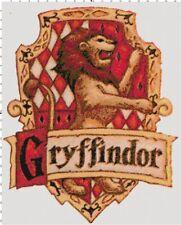 Handmade Gryffindor Harry Potter Cross-Stitch Pattern Chart by Bella Stitchery