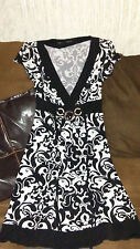 womens maurices dress size S black and white