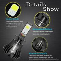 H3 LED Headlight Bulb Car Fog Light Beam Lamp 6000K 80W 9600LM White HKZ