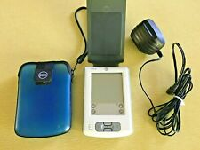 New listing Palm Zire m150 Handheld Palm Pilot - Working - Adaptor, Stylus, Cover, Blue Case