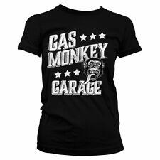 Officially Licensed Gas Monkey Garage Monkeystars Women T-Shirt S-XXL Sizes
