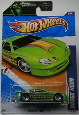 MOPAR 2011 Hot Wheels Dragsterz #125 Dodge Neon Green New