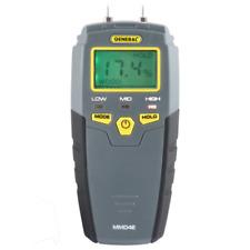 Digital Moisture Meter Pin Type Lcd Display Wood Plaster Drywall Tester Tool