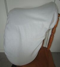 Horse Stock / Western / Swinging Saddle cover FREE EMBROIDERY Silver grey