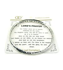 Bracelet Our Father Christian Religious 4030015 The Lord's Prayer Twisted Bangle