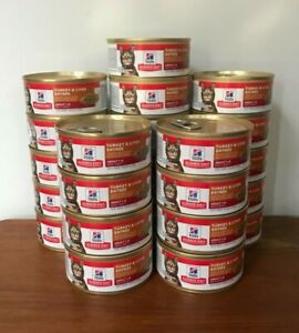 24 Cans Hill's Science Diet Turkey & Liver Entree 5.5 oz Cans