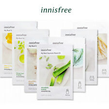 *BUY 5 GET 1 FREE* [INNISFREE] It's Real Squeeze Moisturizing Facial Mask 1pc