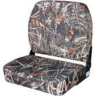 NEW Wise Big Man Advantage Max 4 Camo Print Folding Boat Seat, WD619PLS-732