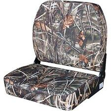 NEW Wise Big Man Advantage Max 4 Camo Print Folding Boat Seat, WD619PLS-732