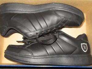 oakland raider shoes NFL Past time II women's size 9 in box originally $65