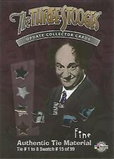 """The Three Stooges Update: CC9 """"Larry Fine's 8 Tie"""" Incentive Costume Card #15/99"""