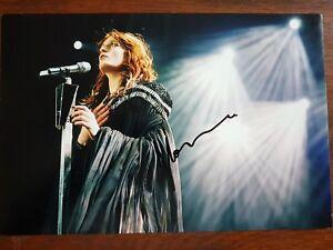 Florence Welsh signed photo