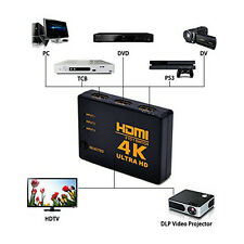 3 in 1 out 4K*2K HDMI Switch Hub Splitter HDMI Switcher Adapter for HDTV PS4 DVD