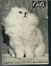 New listing Cats Magazine 3 (9-54, 10-58, 12-58), Cat World 2 (5-74, 7-76) 2 Cat Shows