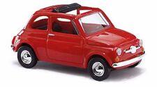 Busch  48720 Fiat 500, Rot 1:87