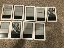 Barnes & Noble Nook 1st Edition 2GB, Wi-Fi, 6in LOT OF 9 READERS TESTED