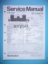 Service Manual-instrucciones para Technics st-ch570, original
