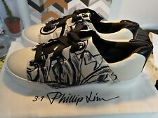 NEW IN BOX Philip Lim pashli Morgan leather sneakers sz38 /UK5 RRP£395