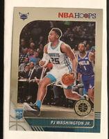 2019-20 NBA Hoops Premium Stock PJ WASHINGTON JR. Rookie Base RC # 209 SHARP!!