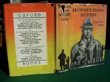 Browne's £50,000 Mystery by Michael Poole (1st edn with jacket, illustr., 1937)