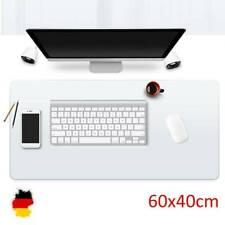 Schreibtischunterlage 60x40 cm transparent Schreibunterlage Auflage abwischbar