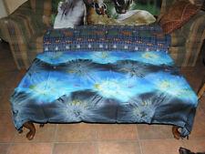 Ice Blue Tye Dye Sarong, alter cloth,  skirt, scarf, wrap,hippie