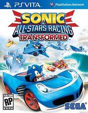 Sonic & All-Stars Racing: Transformed [Sony PlayStation Vita PSV, Action Racing]