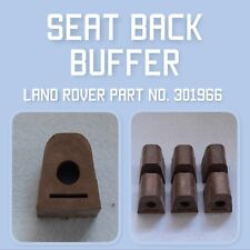 "Land Rover series 1 80"" seat back buffer 301966, Set of 6"