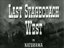 LAST STAGECOACH WEST (1957) DVD JIM DAVIS, MARY CASTLE