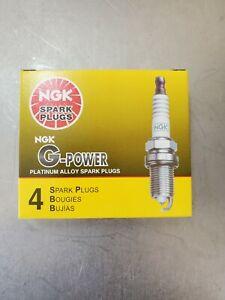 Miata spark plugs. Set of 4 NGK 7090  BKR5EGP G-Power Platinum Spark Plugs