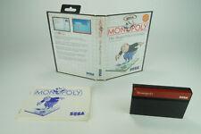 Sega Master System * monopoly * OVP con instrucciones