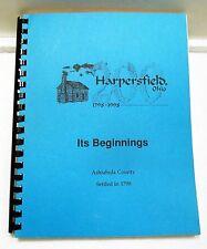 HARPERSFIELD OHIO 1798-1998 GENEALOGICAL RESEARCH ASHTABULA COUNTY