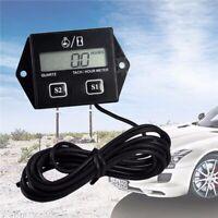 Détails sur  LCD RPM Tachymètre Compte-Tours Digital Bougie d'allumage Moto FR