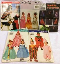 Lot of Costume SEWING Patterns Butterick, Simplicity