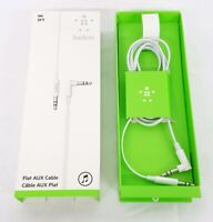 Belkin Flat AUX Cable 3FT for Apple iPhone iPad MacBook USED with Original Box