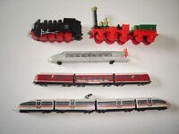 GERMAN DEUTSCHE BAHN COLLECTION MODEL TRAINS SET 2011 KINDER SURPRISE MINIATURES