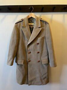 Vintage J Press Crombie Coat Overcoat Small Ivy Andover Shop Preppy