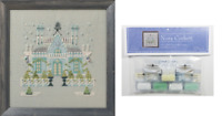 Nora Corbett Mirabilia Cross Stitch PATTERN & EMBELLISH PK Gothic House NC279