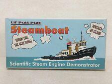 Lil Putt Putt Steamboat Educational Scientific Steam Demonstrator New in Box