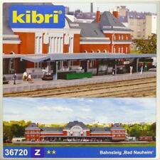 """Kibri 36720 ( 6720 )  Z - Bahnsteig """" Bad Nauheim """" NEU & OvP"""