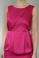 * BNWOT Florence & Fred Pink Cerise Silky Satin Wedding Occasion Party Dress 10