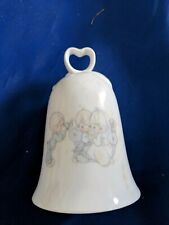 Precious Moments Wedding Bell Bride Groom Our friendship has developed into love