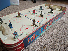 Vintage 50's Eagle Hockey game Playoff Table Top Montreal Toronto Canadian toy